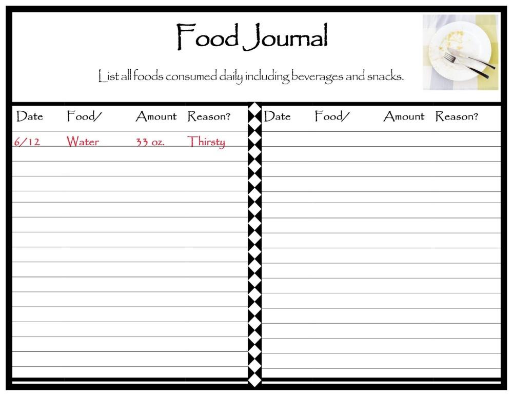 Workshop Houston Food Journal Working